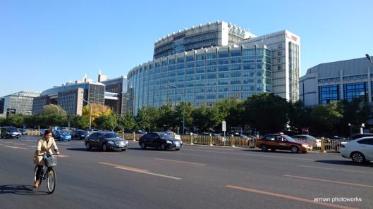 Suasana Beijing di sekitar Wangfujing Street (Sony Xperia Z3+, mode; auto)