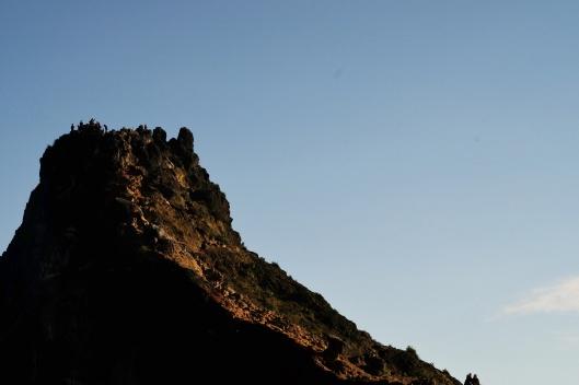 Takal kuda, puncak tertinggi gunung Sibayak