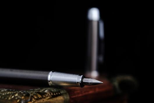 fountain pen, parker