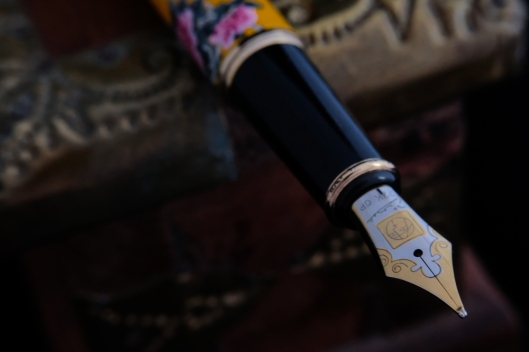 fountain pen, picasso